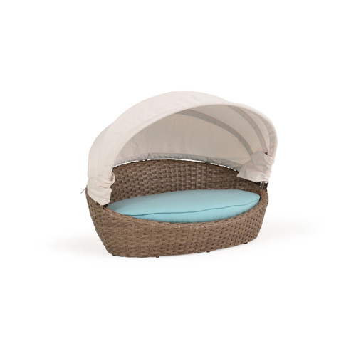 Kokomo Outdoor Pet Chaise with Canopy