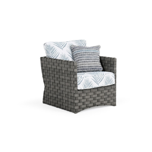 Cabana Outdoor Wicker Club Chair