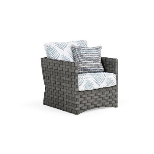 Cabana Outdoor Wicker Club Chair