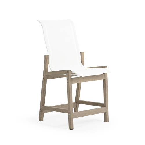 Maui Outdoor PoliSoul Sling Counter Chair