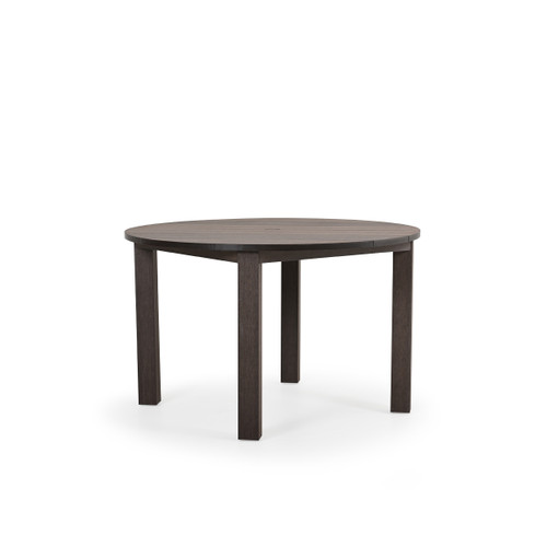 Maui Outdoor PoliSoul™ Round Dining Table in Vintage Walnut