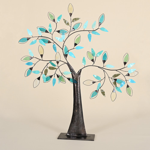 Tree of Glass Leaves