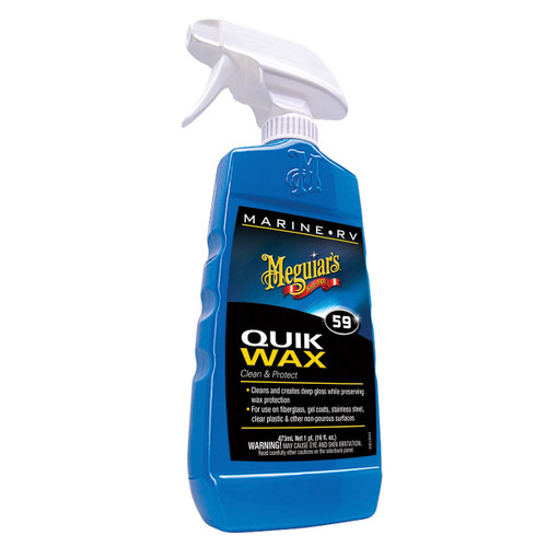 Meguiars Quik Wax, 16oz Spray