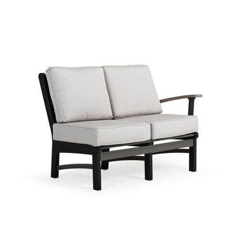 Bayshore Outdoor Poly Lumber Sectional Loveseat