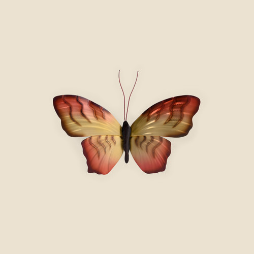 Aussie Birdwing Butterfly Metal Wall Art