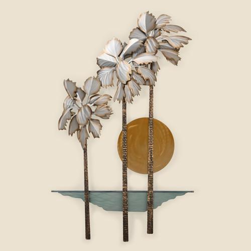 Pacifica Palms Metal Wall Art