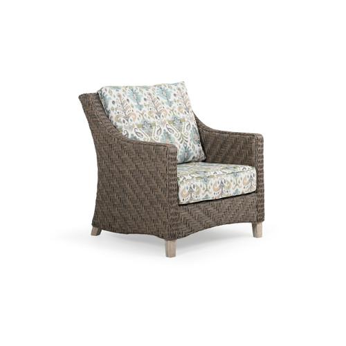 Hemingway Outdoor Wicker Club Chair