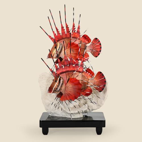 Lion Fish Tabletop Sculpture