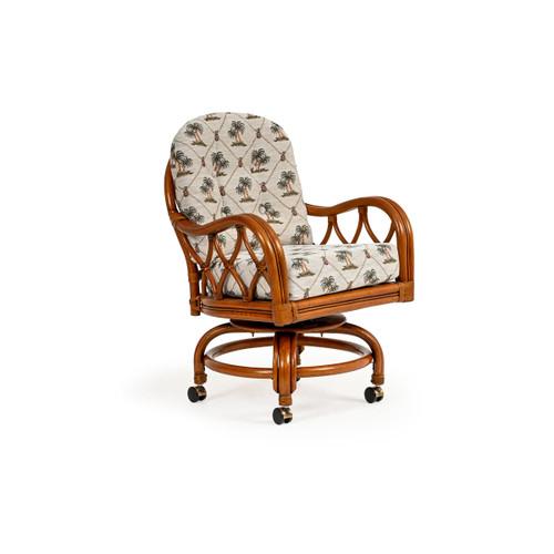 Jamaica Swivel Tilt Caster Dining Chair