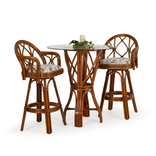 Jamaica Bar 3 Piece Height Set