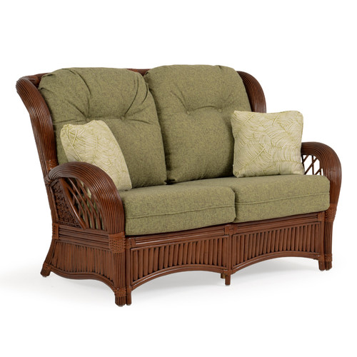 Island Way Indoor Rattan Loveseat