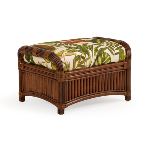 Island Way Indoor Rattan Ottoman
