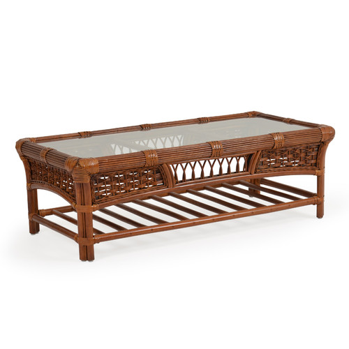 Island Way Indoor Rattan Cocktail Table