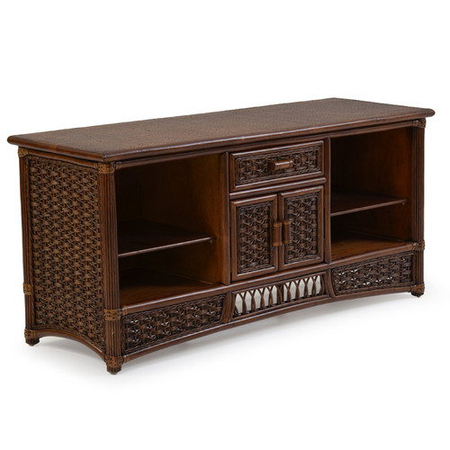 Island Way Indoor Rattan TV Stand