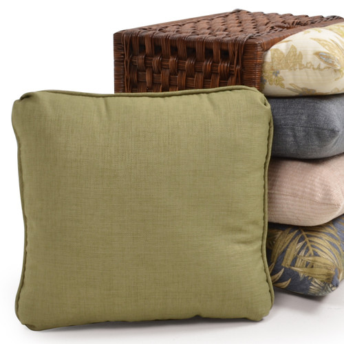 Square Toss Pillow with Small Welt