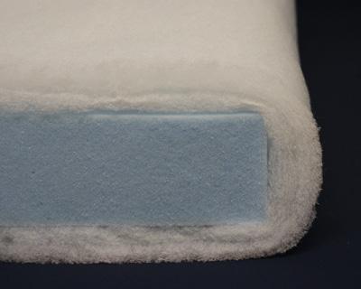 Cushion with Dacron Wrap