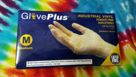 Vinyl Gloves S-XL - 50 Pairs