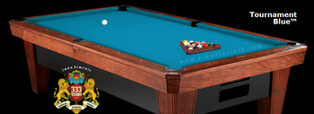 Simonis 860HR Billiard Cloth, 8 foot cut with bed and rails