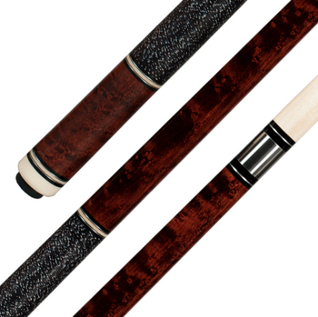 Pechauer P04-K pool cue, square view