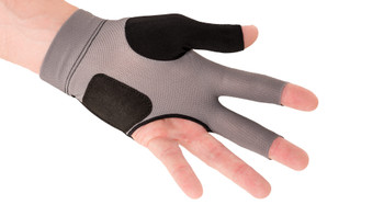 Predator Second Skin Glove- Black with Grey Lettering