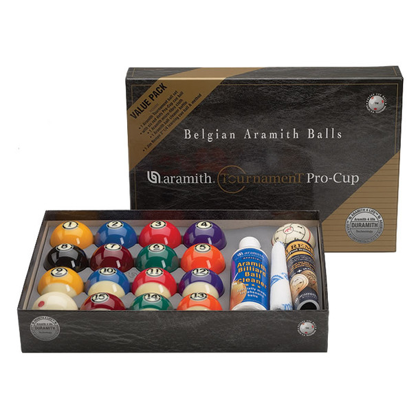 Aramith Tournament Ball Value Pack