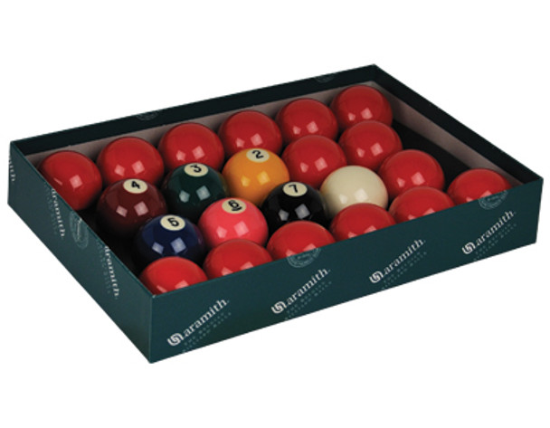 """Aramith Premier 2 1/4"""" Snooker Set With Numbers"""