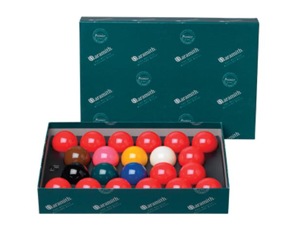 "Aramith Premier 2 1/8"" English Snooker Set, No Numbers"