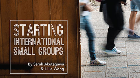 Starting International Small Groups booklet