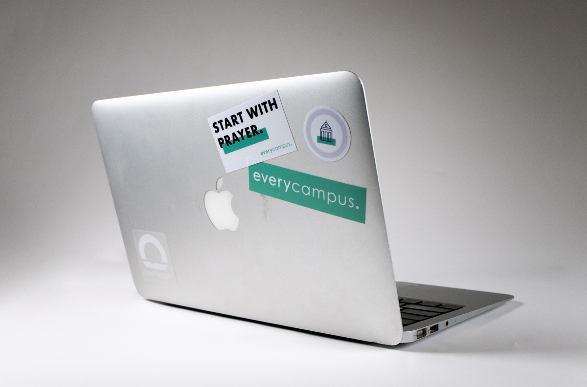 EveryCampus Start with Prayer Sticker (each)