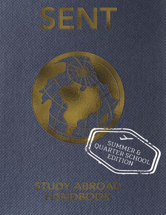 SENT Summer/Quarter Handbook - PDF
