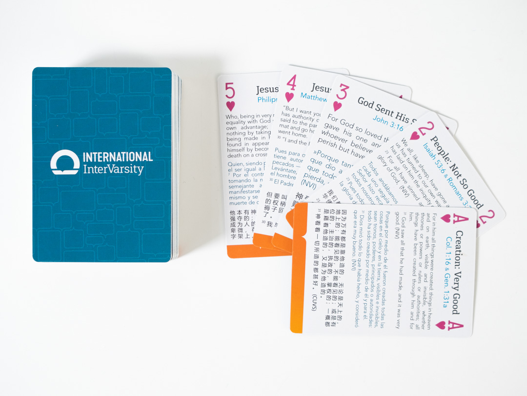 Scripture Memory Playing Cards