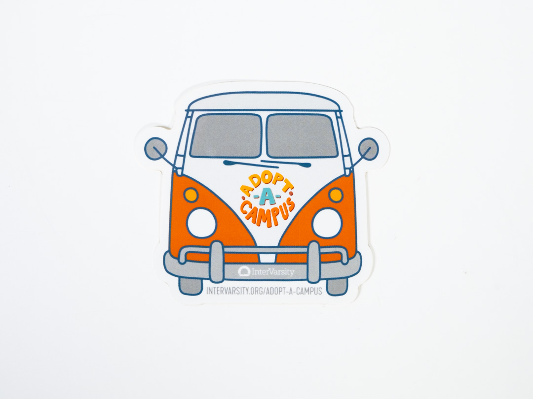 Adopt a Campus: Van Sticker (each)