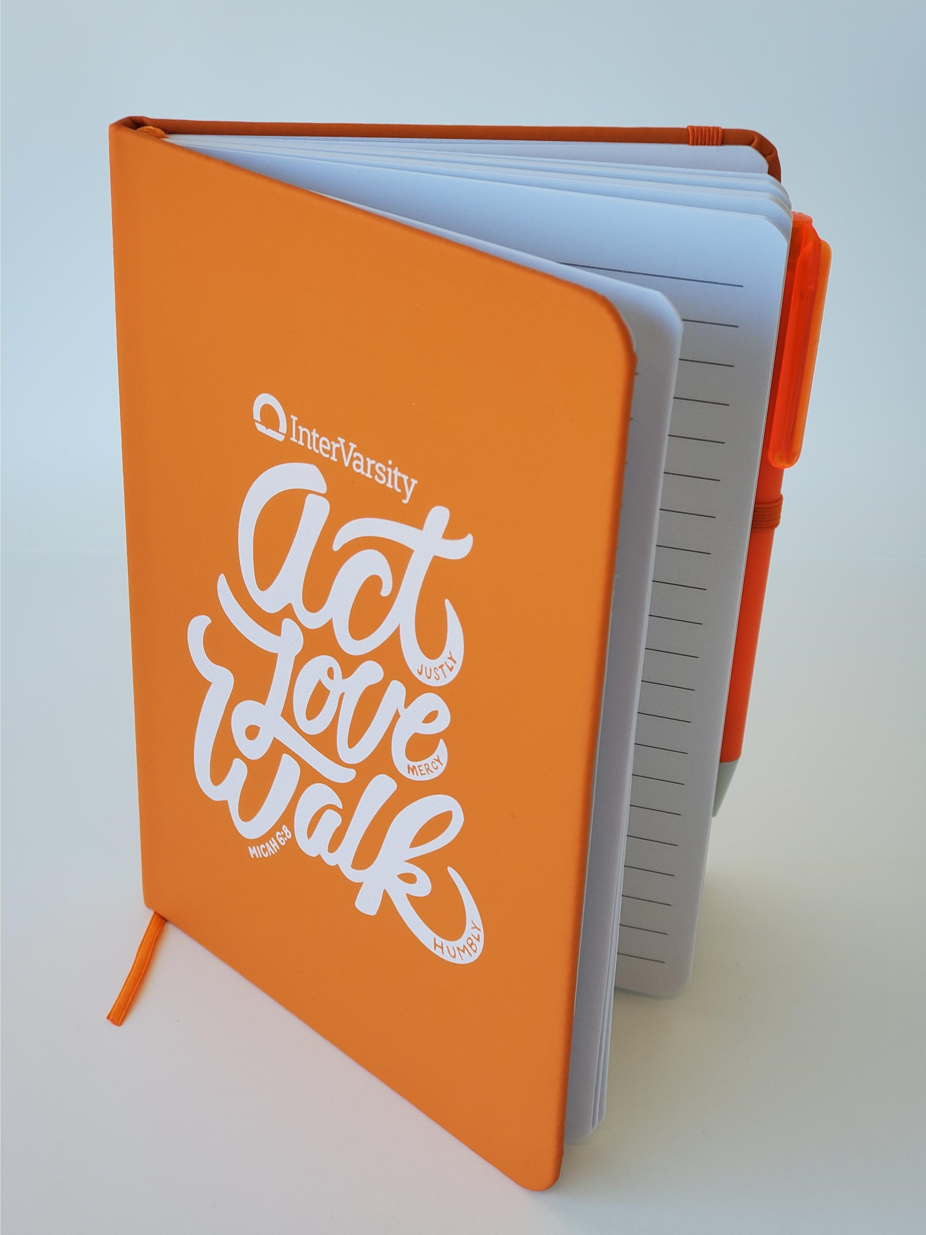 Act Love Walk - Notebook with Pen