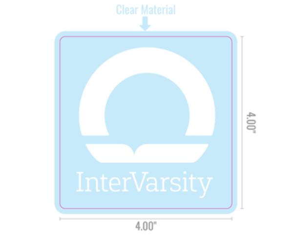 InterVarsity Window Sticker