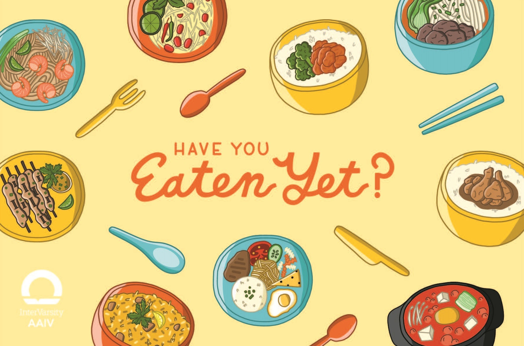 Have You Eaten Yet? - Postcard (bundle of 25)