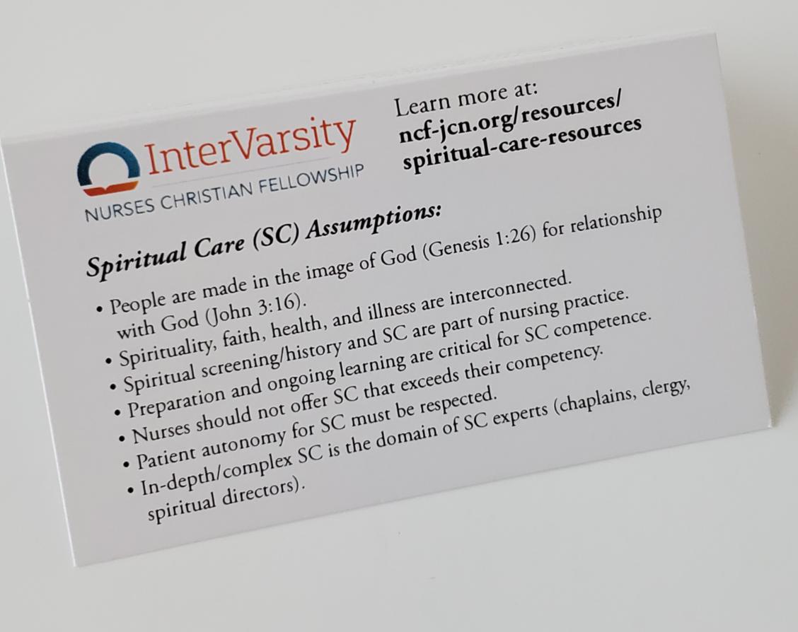 Spiritual Care Cards (bundle 25)