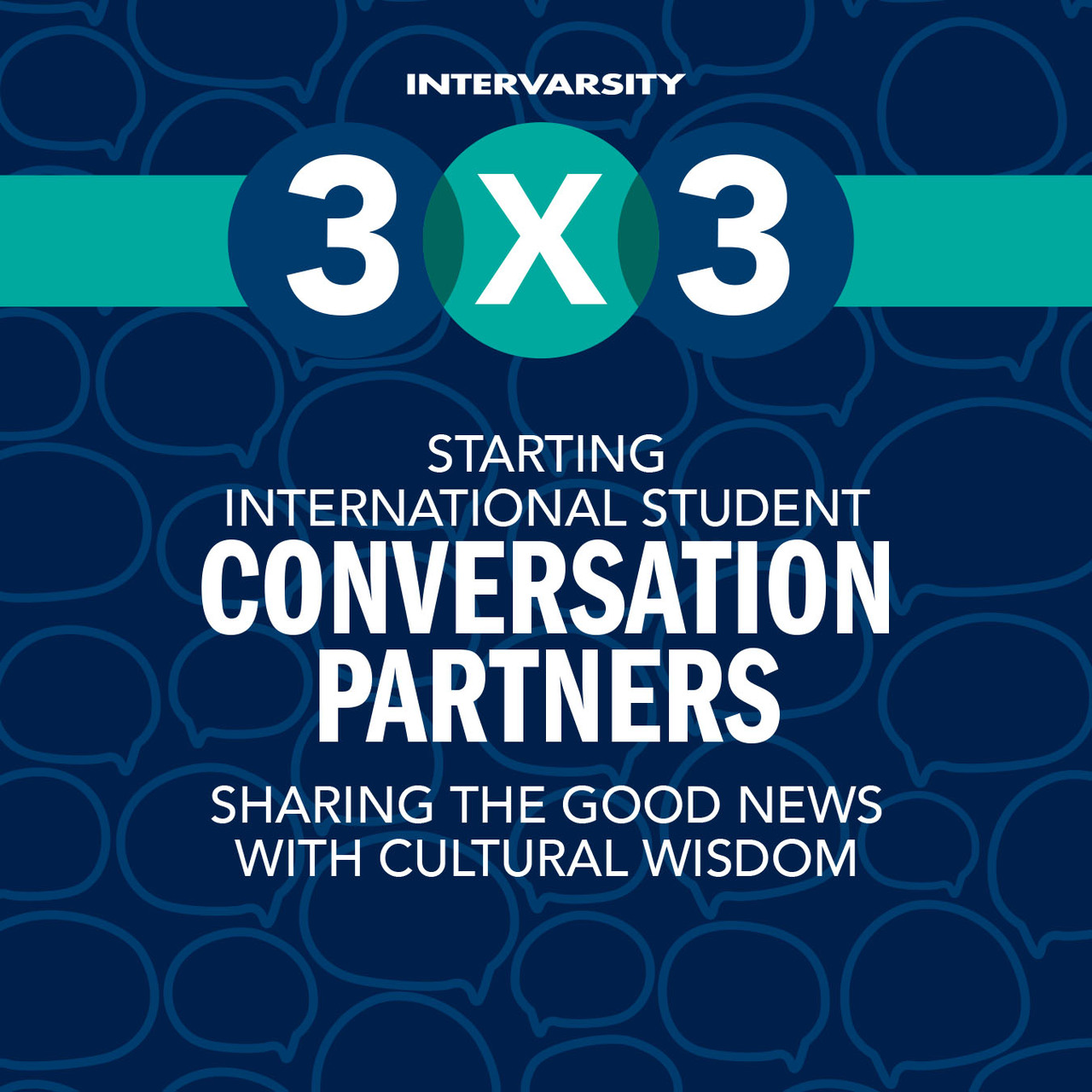 Starting International Conversation Partners 3x3 Quick Guide (bundle of 10)