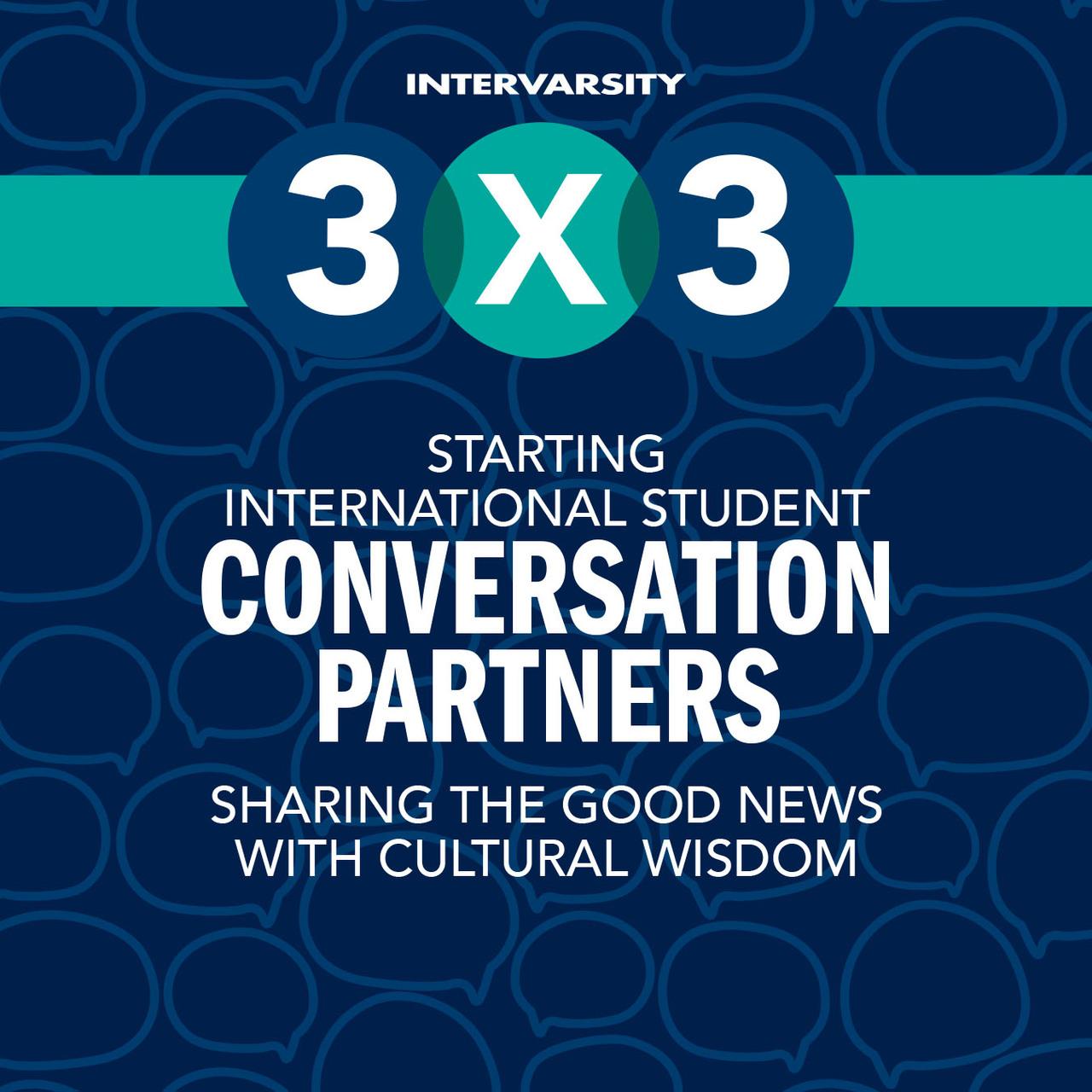 Starting International Conversation Partners 3x3 Quick Guide (bundle of 10)