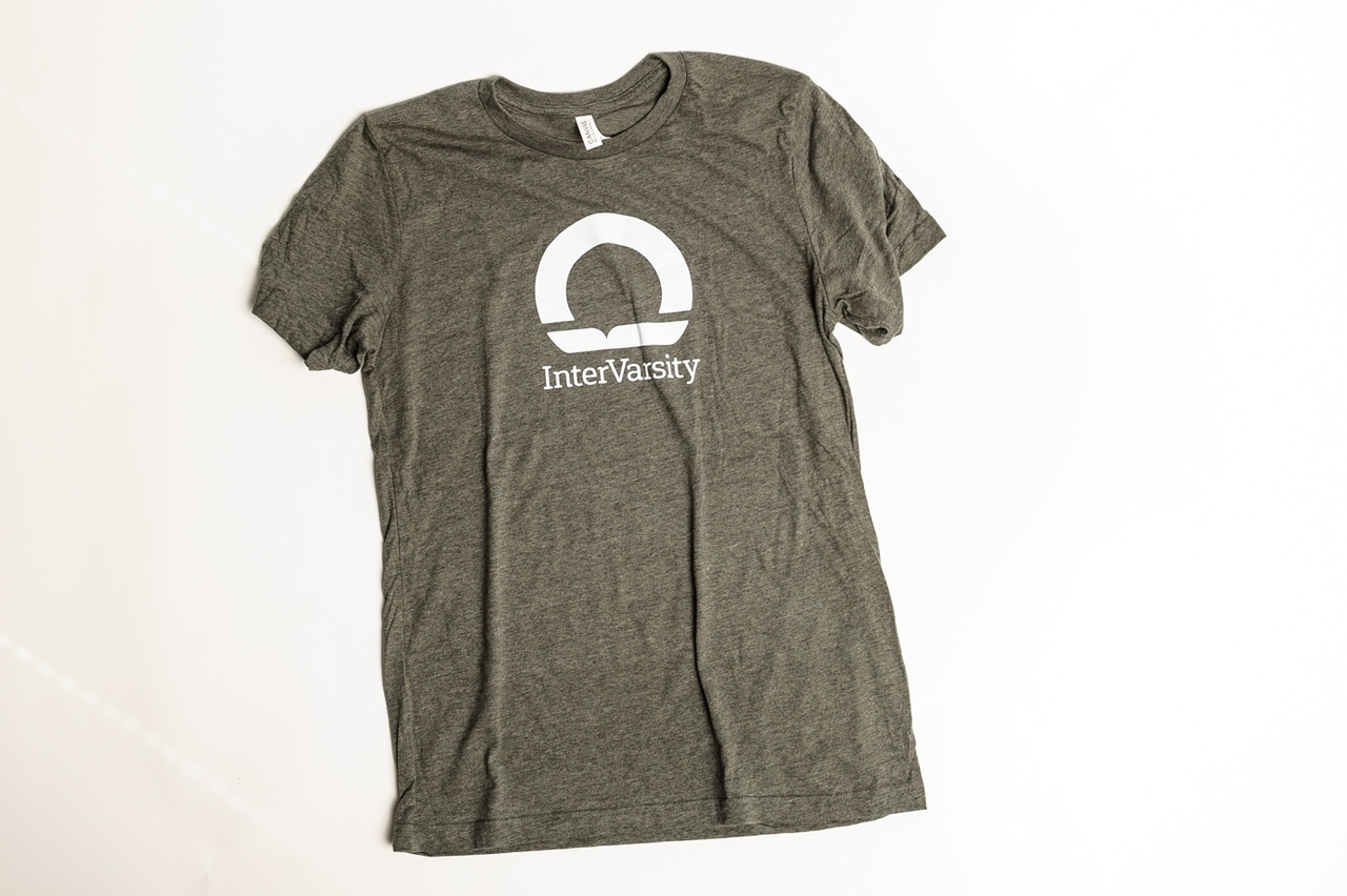 InterVarsity T-shirt - Gray with White Logo