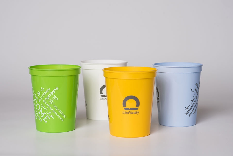 Welcome Languages Cups - 2018 Design (bag of 25)