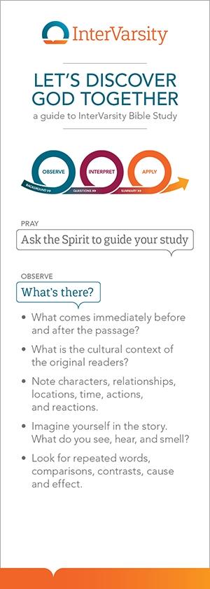 Bible Study Bookmark (bundle of 25)