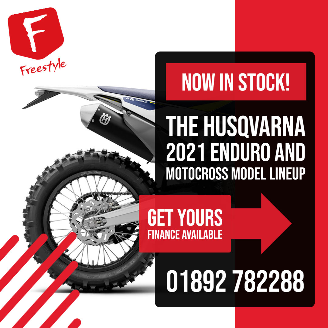 Husqvarna Enduro and Motocross Motocycles