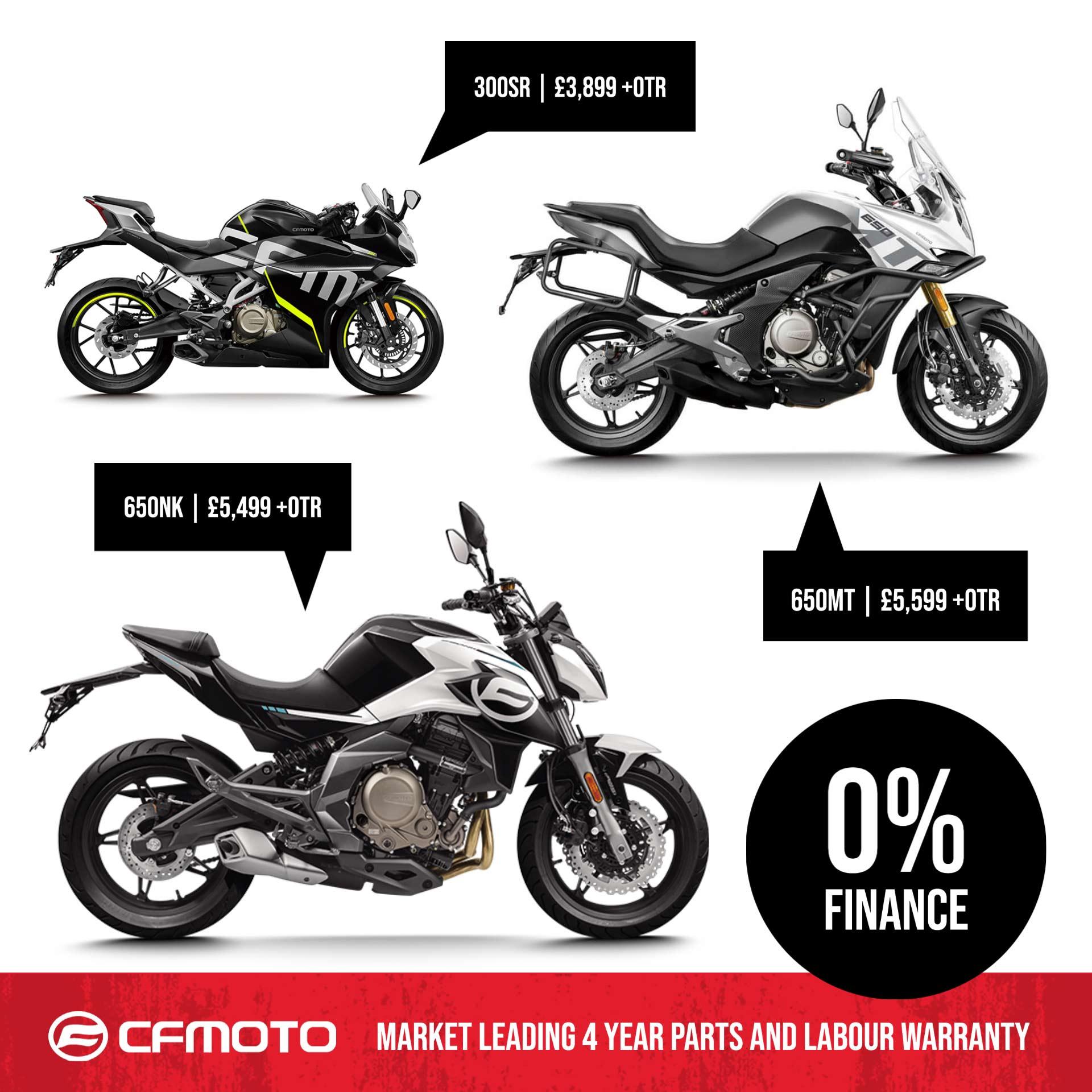 CFmoto Motorcycles
