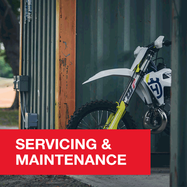 Husqvarna and Yamaha Servicing and Maintenance