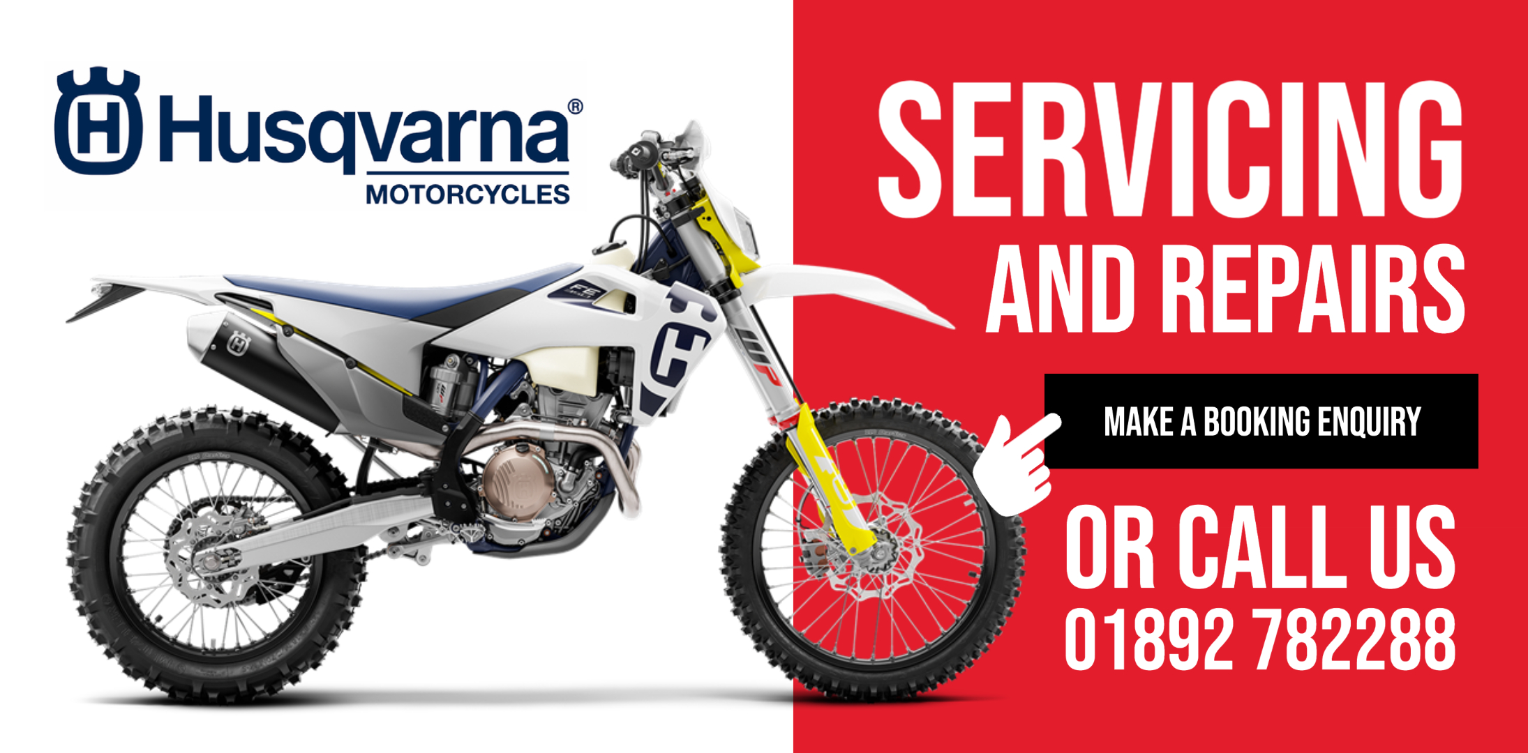 Husqvarna Motorcycle Servicing