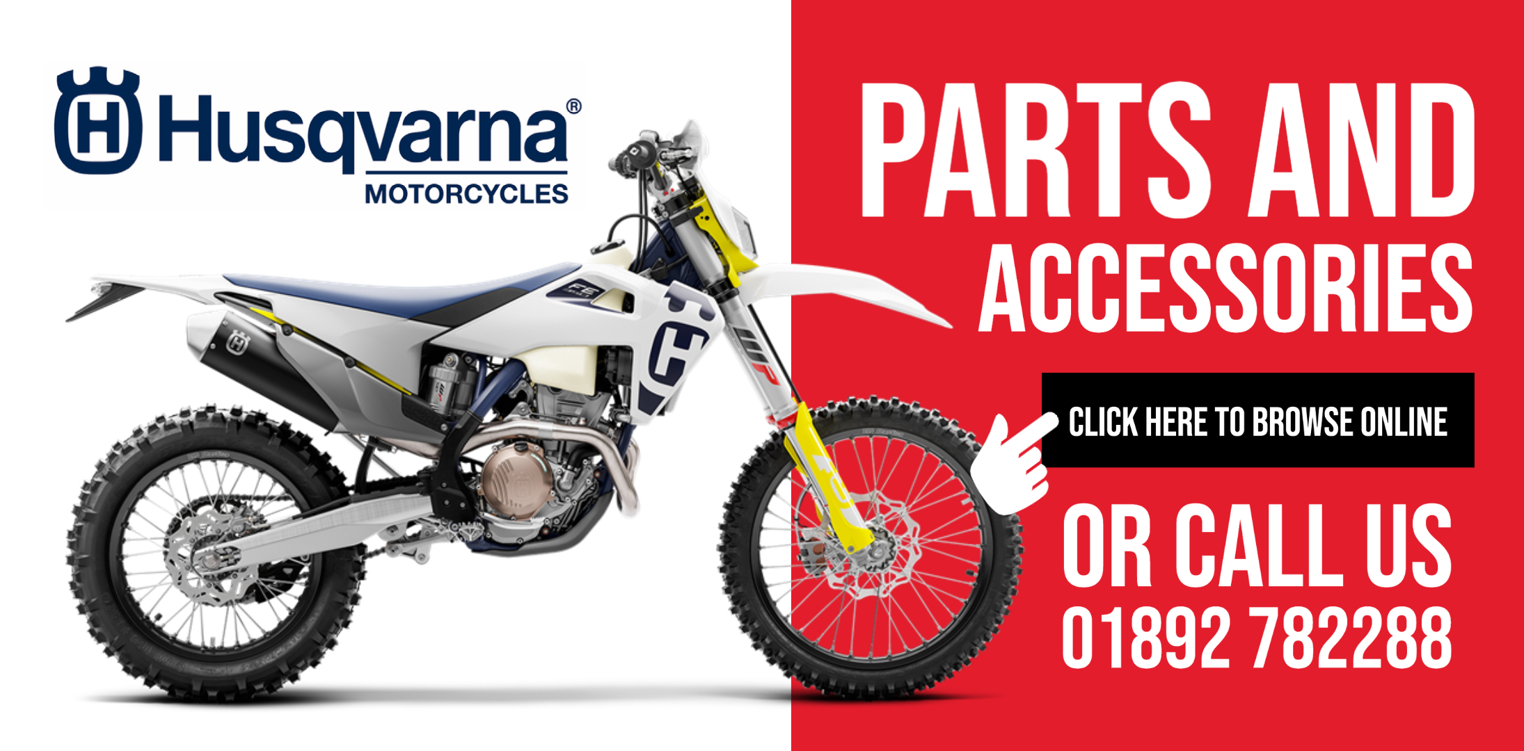 Husqvarna Motorcycles Parts and Accessories