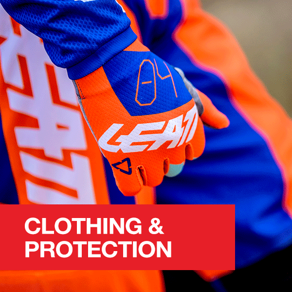 Motorcycle and MX Clothing and Protection