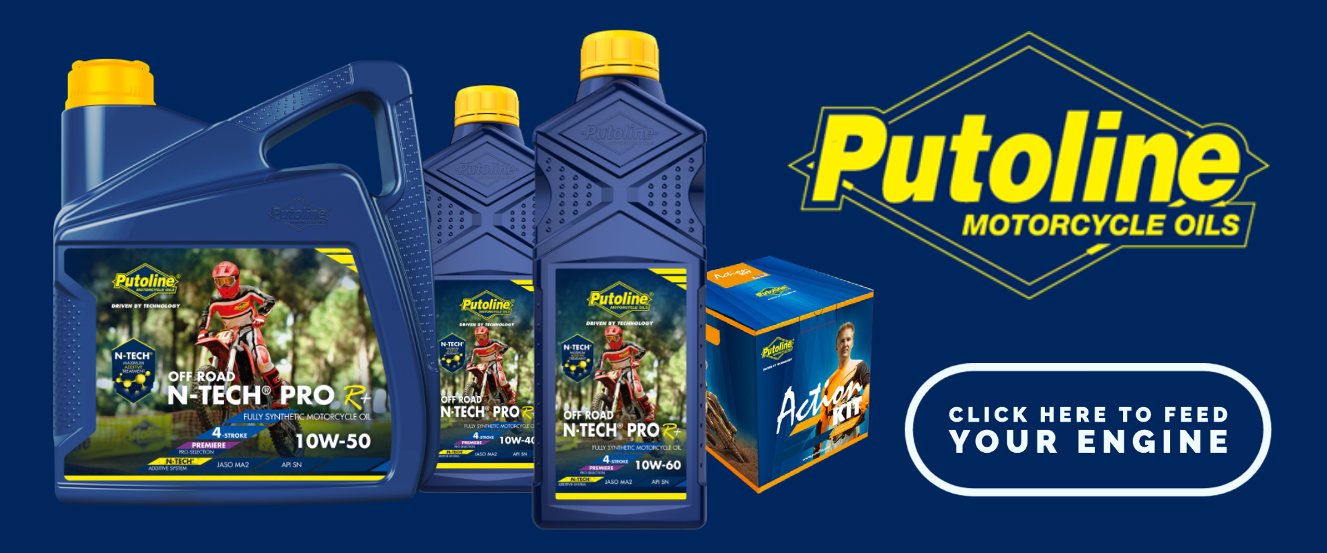 Putoline Motorcycle Oils and Cleaners