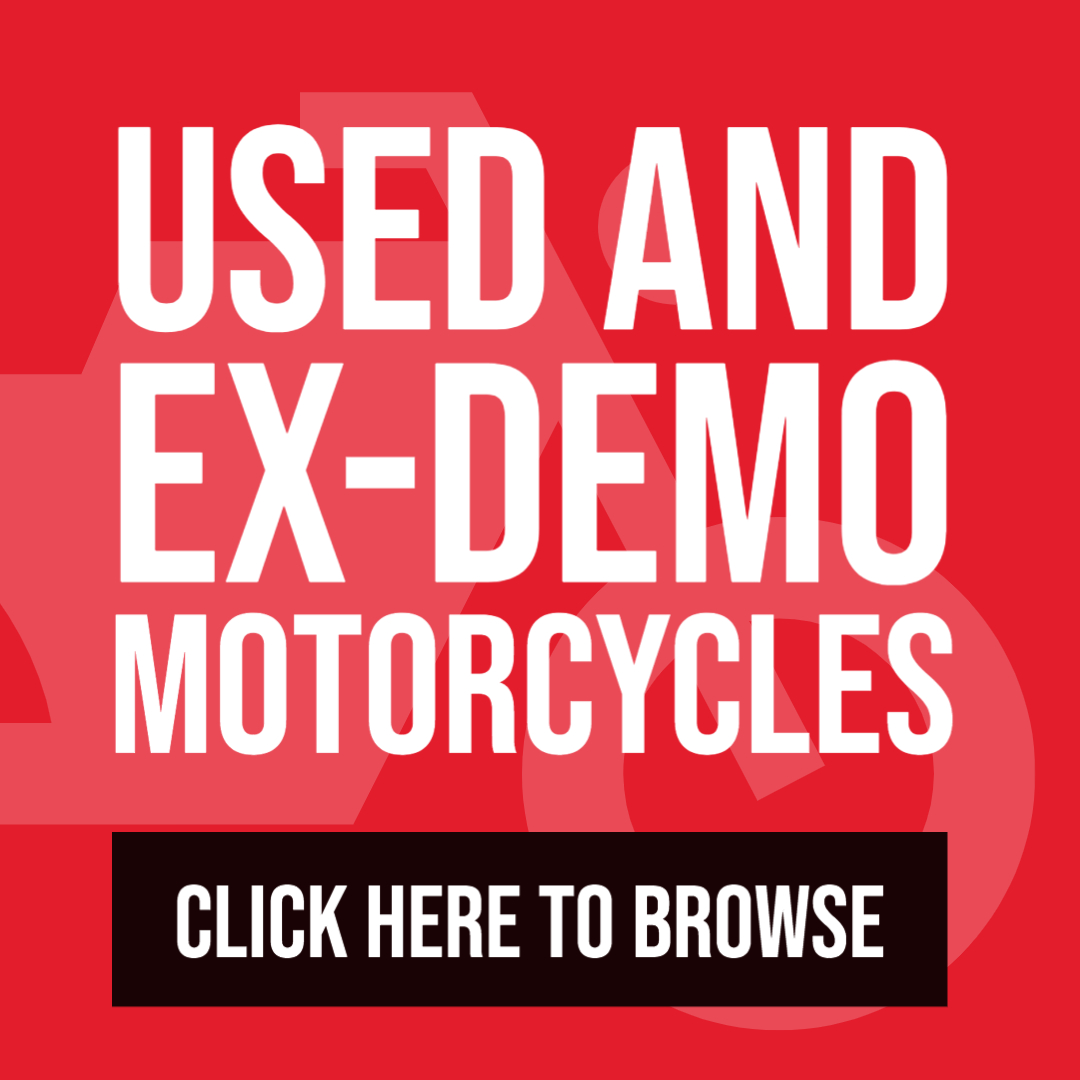 Used and EX Demo Motorcycles
