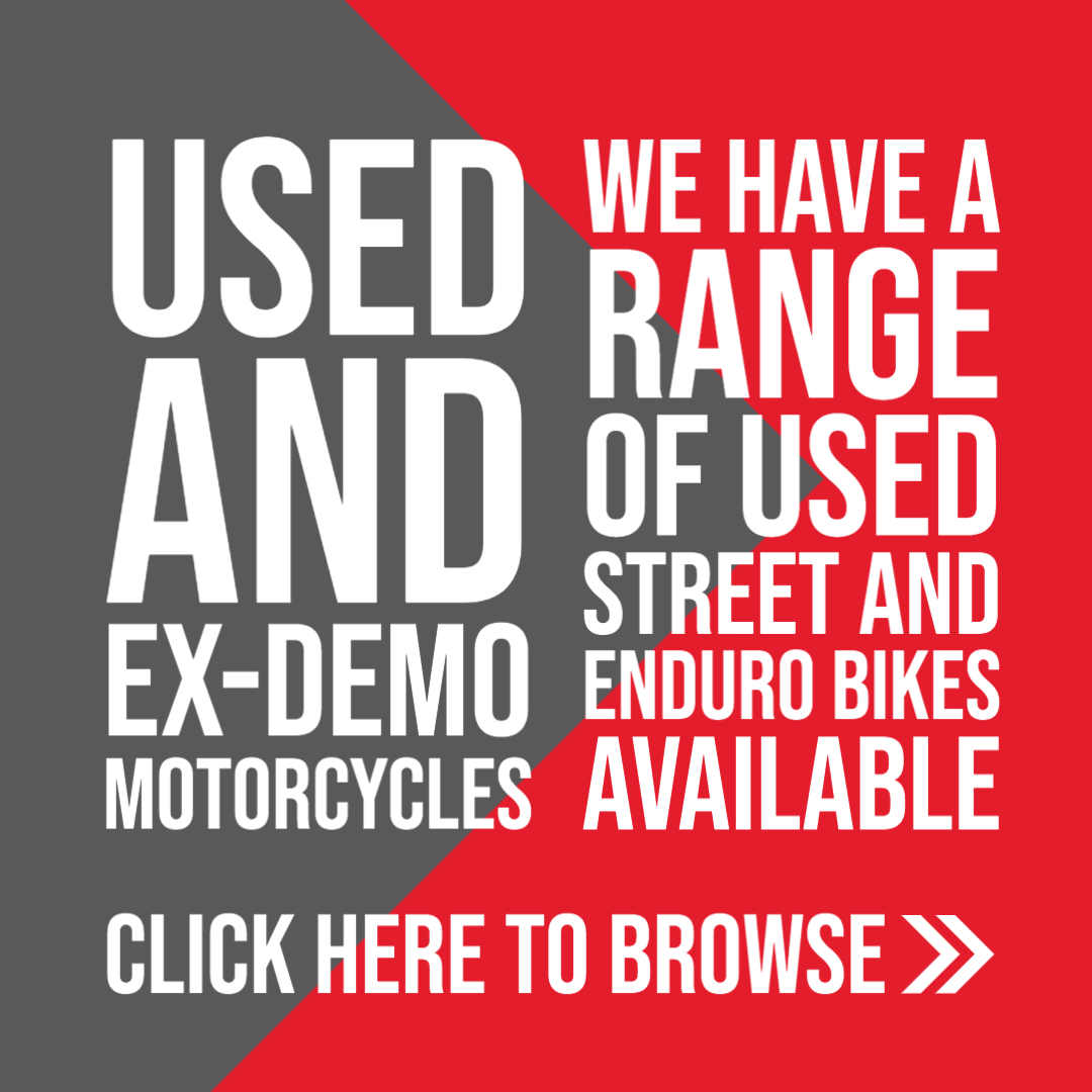 Used and EX-DEMO Motorcycles